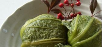 雪あたり青菜漬のイメージ