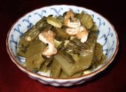 青菜の茎菜煮